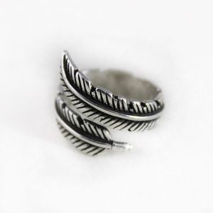 Jewelry - Sterling Silver Feather Ring